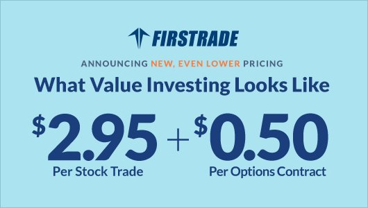 Firstrade获4.5星好评 – 性价比高,易于使用