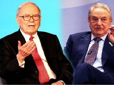 金融大鳄巴菲特和索罗斯买什么股票